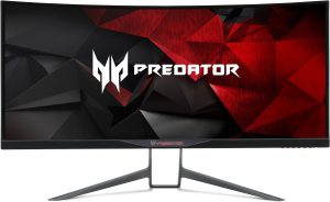 Acer Curved Monitor Acer Predator X34 Front