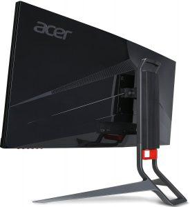 Acer Curved Monitor Acer Predator X34 Rueckseite Seitlich
