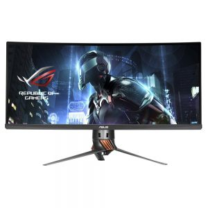 Asus Curved Monitor PG348Q Front