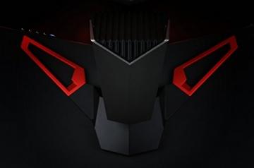 Acer Predator Z35 89 cm (35 Zoll) Curved Monitor (HDMI, USB 3.0, 4ms Reaktionszeit, Auflösung 2560 x 1080, Nvidia G-Sync, EEK A) schwarz/rot -