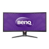 BenQ XR3501 88,90 cm (35 Zoll) Curved Monitor (HDMI, Displayport, 4ms Reaktionszeit, 2560 x 1080, 144 Hz, AMVA Panel) schwarz/rot -