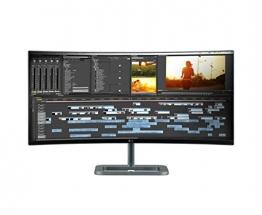 LG 34UC87C-B 86,4 cm (34 Zoll) Curved Monitor (HDMI, DisplayPort, USB) -