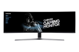 Samsung 49 Zoll Monitor Front