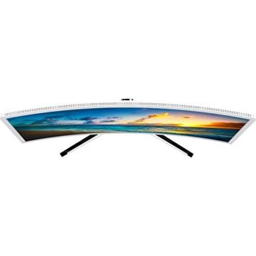HKC NB24C 24-inch Curved LED Monitor, Full-HD 1920x1080, HDMI, VGA, Flicker Free, Low-Blue light - weiss -
