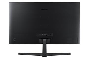 Samsung LC24F396FHUXEN 59,8 cm (23,5 Zoll) Curved LCD Monitor (HDMI, 15pin D-Sub, 4 ms Reaktionszeit, 1920 x 1080) schwarz-glänzend -
